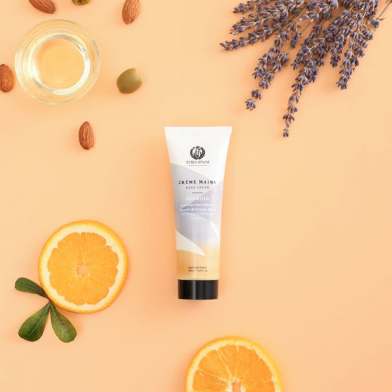 Image Crème mains protectrice lavandin/orange